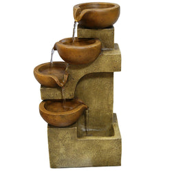 Tiering Pots Tabletop Fountain - Outdoor Fountain Pros