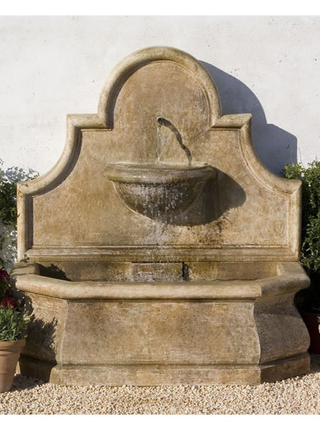 Andalusia Outdoor Wall Water Fountain By Campania