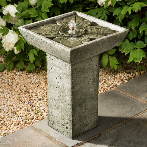 Andra Garden Water Fountain, Garden Outdoor Fountains - Outdoor Fountain Pros