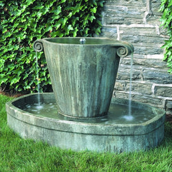 Anfora Garden Water Fountain, Garden Outdoor Fountains - Outdoor Fountain Pros