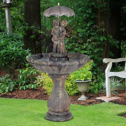 Classic April Showers Fountain - Outdoor Fountain Pros