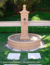 Aquatine Pond Fountain - Outdoor Fountain Pros