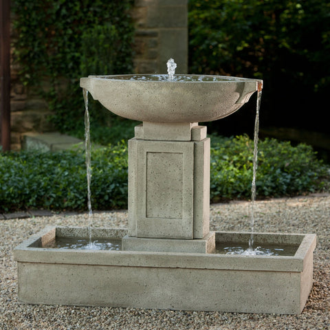 Austin Garden Water Fountain, Garden Outdoor Fountains - Outdoor Fountain Pros