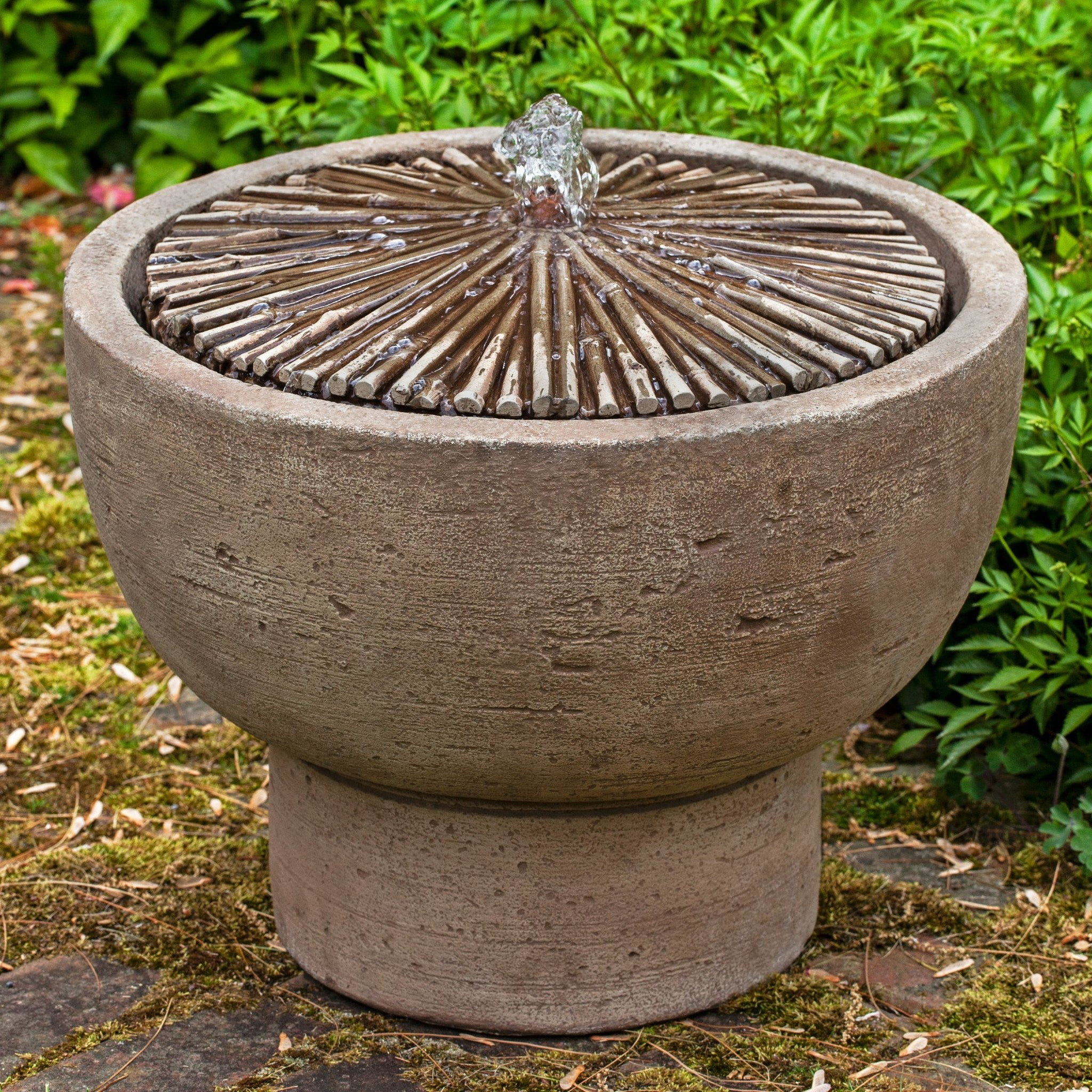Bamboo Pot Water Fountain, Garden Outdoor Fountains   Outdoor Fountain Pros  ...