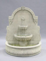 Bavarian Wall Fountain - Outdoor Fountain Pros