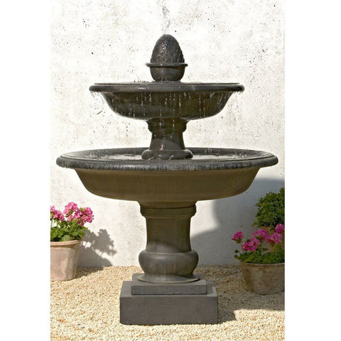 Belvedere Tiered Garden Water Fountain, Tiered Outdoor Fountains - Outdoor Fountain Pros