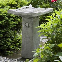Bjorn Garden Water Fountain, Garden Outdoor Fountains - Outdoor Fountain Pros