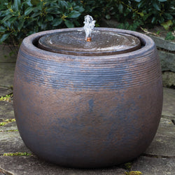 Boden Fountain in Bronze - Outdoor Fountain Pros