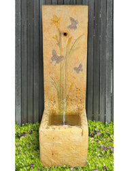 Butterfly Single Spout Fountain - Outdoor Fountain Pros