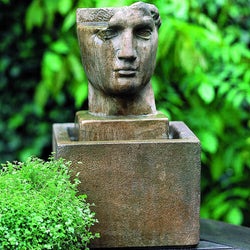 Cara Classica Garden Terrace Fountain, Garden Outdoor Fountains - Outdoor Fountain Pros