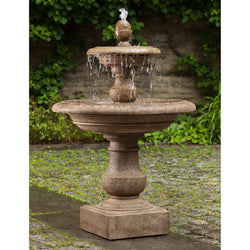 Caterina Tiered Garden Water Fountain, Tiered Outdoor Fountains - Outdoor Fountain Pros