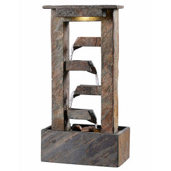 Channel Table Fountain - Outdoor Fountain Pros