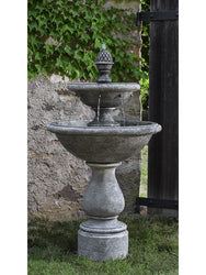 Charente Garden Water Fountain, Tiered Outdoor Fountains - Outdoor Fountain Pros