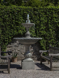 Charleston Tiered Outdoor Water Fountain, Tiered Outdoor Fountains - Outdoor Fountain Pros