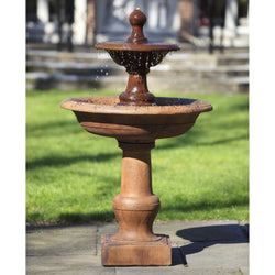 Cortile Tiered Garden Water Fountain, Tiered Outdoor Fountains - Outdoor Fountain Pros