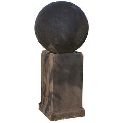 Quinlan Sphere Sculpture Outdoor Fountain, Garden Outdoor Fountain - Outdoor Fountain Pros
