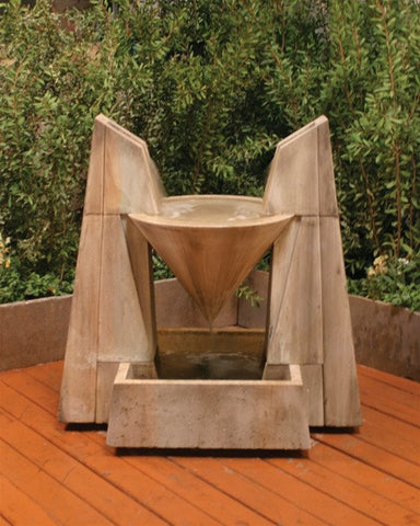 Daccapo Garden Water Fountain, Large Outdoor Fountains - Outdoor Fountain Pros