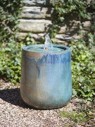 Daralis Glazed Garden Fountain, Garden Outdoor Fountains - Outdoor Fountain Pros