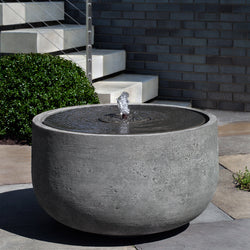 Echo Park Garden Fountain - Garden Outdoor Fountains - Outdoor Fountain Pros