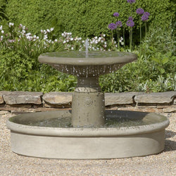 Esplanade Garden Water Fountain, Garden Outdoor Fountains - Outdoor Fountain Pros