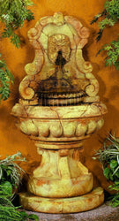 Europa Murabella Green Man Garden Fountain, Wall Outdoor Fountains - Outdoor Fountain Pros