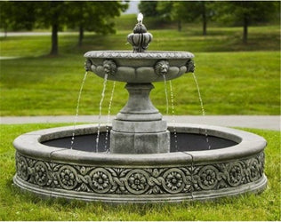 Parisienne One Tier Outdoor Water Fountain