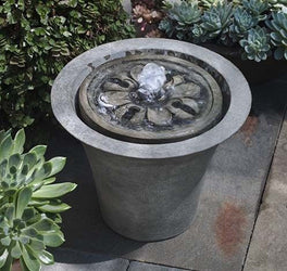 M-Series Flora Garden Water Fountain, Garden Outdoor Fountains - Outdoor Fountain Pros