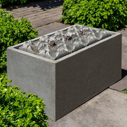 Waves Garden Fountain - Outdoor Fountain Pros