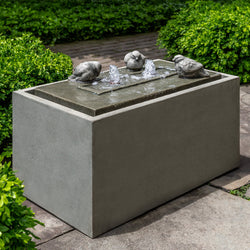Avondale Birds Garden Fountain - Outdoor Fountain Pros