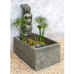 La Sirena Outdoor Fountain - Outdoor Fountain Pros