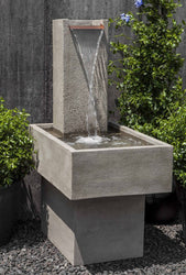Falling Water III Garden Fountain - Outdoor Fountain Pros