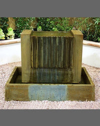 Falls Garden Water Fountain, Garden Outdoor Fountain - Outdoor Fountain Pros