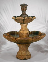 Finial Fountain, Tiered Outdoor Fountains - Outdoor Fountain Pros