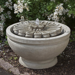 Fleur Garden Water Fountain, Garden Outdoor Fountains - Outdoor Fountain Pros
