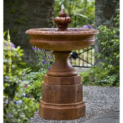Fontainbleu Garden Water Fountain, Garden Outdoor Fountains - Outdoor Fountain Pros