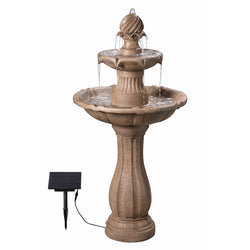 Frost Outdoor Solar Floor Fountain - Outdoor Fountain Pros
