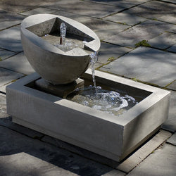 Genesis II Garden Water Fountain, Garden Outdoor Fountains - Outdoor Fountain Pros