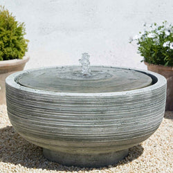 Girona Garden Water Fountain, Garden Outdoor Fountains - Outdoor Fountain Pros
