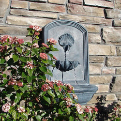 The Napoli Outdoor Wall Fountain - Outdoor Fountain Pros