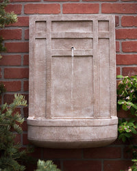 The Sicily Outdoor Wall Fountain - Outdoor Fountain Pros