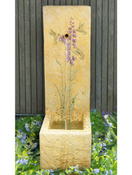 Hummingbirds Single Spout Fountain - Outdoor Fountain Pros