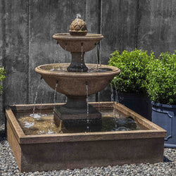 La Mirande Outdoor Water Fountain - Outdoor Fountain Pros