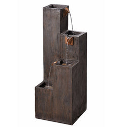 Lincoln Indoor/Outdoor Floor Fountain - Outdoor Fountain Pros
