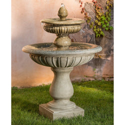 Longvue Garden Water Fountain, Tiered Outdoor Fountains - Outdoor Fountain Pros