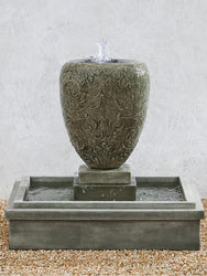 Longwood Arabesque Garden Water Fountain, Garden Outdoor Fountains - Outdoor Fountain Pros