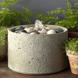 M-Series Pebble Garden Terrace Fountain