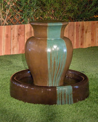Merritt Garden Water Fountain, Urn Outdoor Fountains - Outdoor Fountain Pros