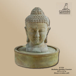 Meditation Buddha Fountain - Outdoor Fountain Pros