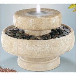 Millstone Fountain, Garden Outdoor Fountains - Outdoor Fountain Pros
