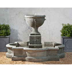 Navonna Outdoor Water Fountain, Large Outdoor Fountains - Outdoor Fountain Pros